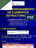PREDIMENSIONAMIENTO DE ELEMENTOS ESTRUCTURALES.pdf