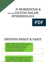 Ukuran Morbiditas Mortalitas Dalam Epidemiologi