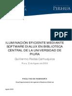 Manual Dialux Piura