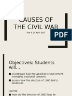 Causes of the Civil War 3.1