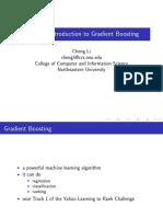 Gradient Boosting