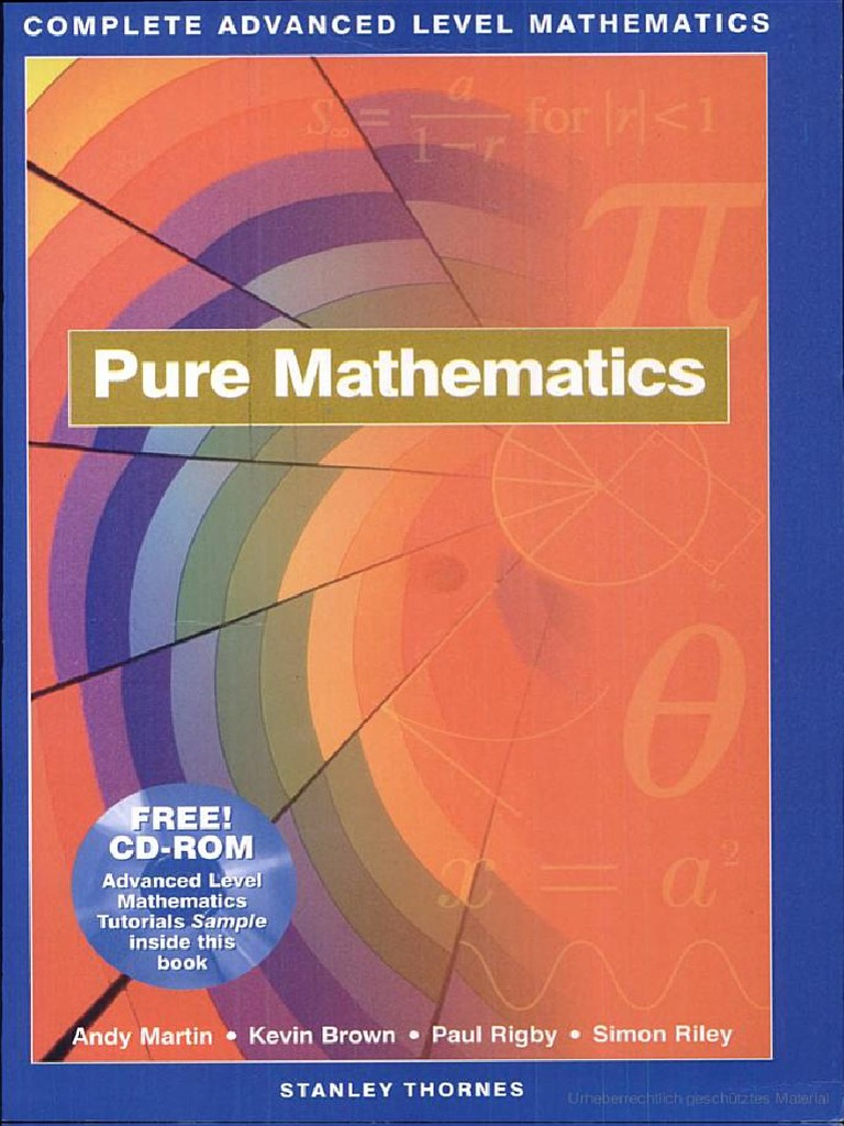 Free Mathematics Books & eBooks - Download PDF, ePub, Kindle