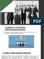 Clima y Cultura Organizacional Final 1