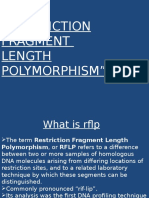 Restriction Fragment Length Polymorphism2