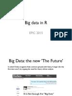 Epic r Bigdata