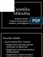 Mikro Genetika Mikrobia