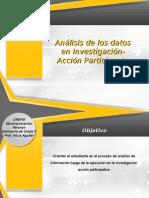Guía didáctica análisis de datos en investigación acción participante