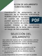 Coordinacion de Aislamiento en Subestaciones