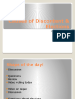 2 - causes of discontent   elections