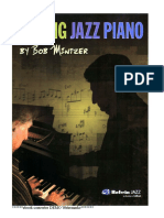 Bob Mintzer Playing Jazz Piano