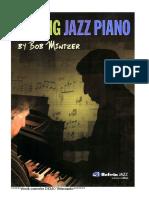 Bob Mintzer Playing Jazz Piano