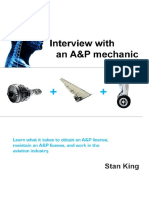 InterviewWith an a&P