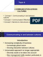 Topic 4 Business Communication Across Cultures