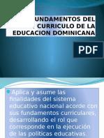 Fundamentos Del Curriculo de La Educacion Dominicana