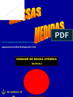 Calculos e Massas