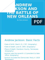 andrew jackson and the battle of new orleans