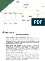 Organigrama Inversiones Santa Rosalia Cinco Final ..............