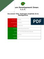 PR-1078 - Hydrogen Sulphide Management Procedure.docx