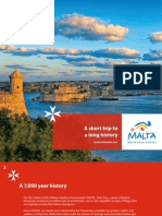 The Malta & Gozo History & Culture Brochure 2010