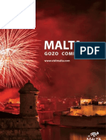 The official Malta & Gozo Brochure in English