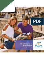 English Language Learning Malta Brochure