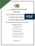 Dermatitis Reaccionales Inmunologicas