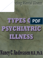 Types of Psychiatric Illness