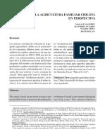04.- La Agricultura Familiar Chilota en Perspectiva