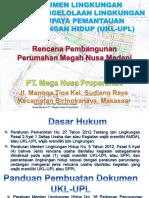 Seminar Ukl - Upl - Perumahan Megah Nusa Madani