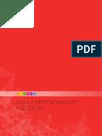 Guia de Implementacion Del Curriculo de Emprendimiento y Gestion BGU