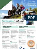 Familiehelga 2010 - Programplakat