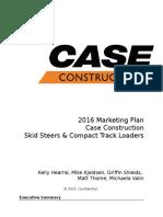 case marketing plan