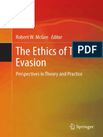 McGee the Ethics of Tax Evasion
