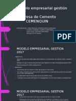 Modelo Empresarial Gestión 2017