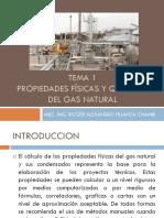 Tema 1 - Propiedades Físicas y Químicas Del Gas Natural