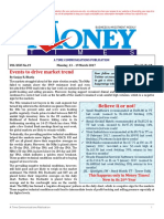 Money Times - Weekly Newsletter - Monday, 13 – 19 March 2017