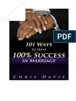 101 Ways to Have 100 Success in Marriage