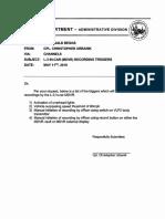 Detroit police response to Kevin Matthews L3 communications FOIA