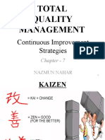 Continuous Improvement Strategies in Tqm (1)