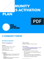 A Community Thrives Activation Plan