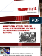 malnutriția