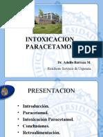 Intoxicacion Paracetamol