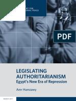 Legislating Authoritarianism