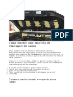 Como montar uma empresa de blindagem de carros.docx