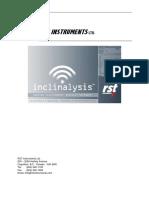 Inclinalysis Digital Inclinometer Software