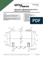 Manual IOM Tanques Alimentacion en Calderas