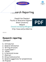 Research Methodology Communication [realizare PPT]