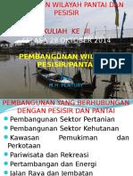 3. Pembangunan Wilayah Pesisir Dan Pantai