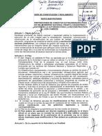 Dictamen aprobado sobre la Ley de la Reconstrucción con Cambios