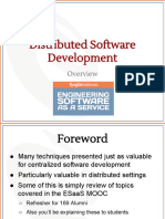 2.0- Overview of Distributed Software Development